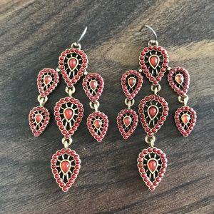 Lucky brand dangly earrings